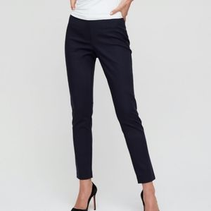 BABATON High Waist Navy Pants